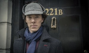Sherlock: London mayor Boris Johnson has shrugged off an apprent jibe in the BBC show